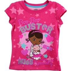 Disney Little Girls' Doc Mcstuffin Hug Short Sleeve Tee, Pink, 2T Disney http://www.amazon.com/dp/B00I0AYB20/ref=cm_sw_r_pi_dp_USRjvb1X4H7EW