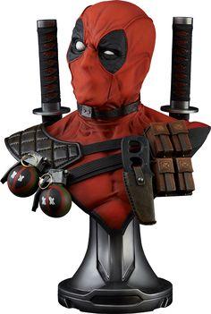 Deadpool Life-Size Bust