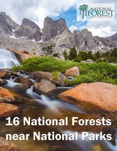 Visiting a National Park soon? Don't miss the fantastic National Forests nearby!