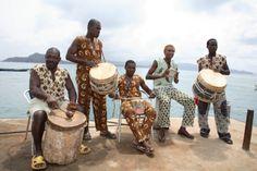"""FernW Gourmet *Die afrikanische Band """"Waterfront"""" spielt live am  31.08.13 * Dieses Bild wird zu Bildungszwecken der wbs genutzt und wird in Kürze gelöscht! Danke!"""