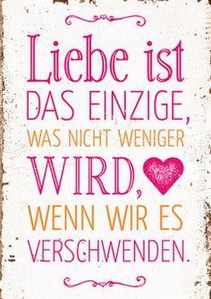 Liebe ist - Postkarten - Grafik Werkstatt Bielefeld