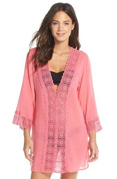La Blanca 'Island Fare' V-Neck Cover-Up Tunic available at #Nordstrom