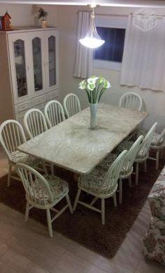 mesas com tampo de marmore travertino - Pesquisa Google