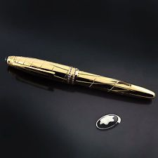 Montblanc Atelier Prive Meisterstück Solitaire Solid Gold Fountain Pen LE 1/1