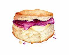 Biscuit & Jam Illustration