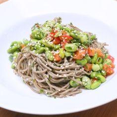 Sesame Soba Noodle Salad http://dateondeals.com