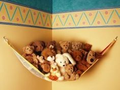 Teddy Hammock JUMBO Toy Storage Net