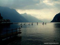 Lake Garda by Charmian S Berry