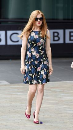 """dailyactress: """"Isla Fisher in Manchester """""""