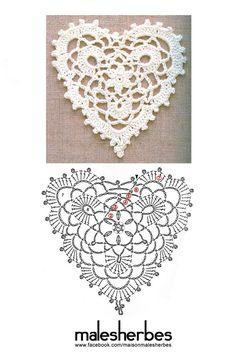 Crochet pattern special valentine