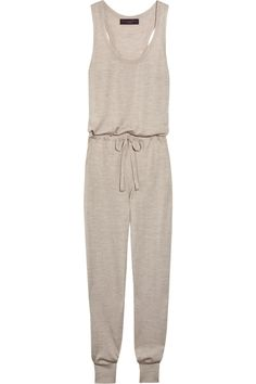 Stella McCartney - Cashmere, silk and wool-blend jumpsuit Stella Maccartney, Knitted Romper, Mom Outfits, Wool Blend, Lounge Wear, Knitwear, Cashmere, Jumpsuit, Rompers