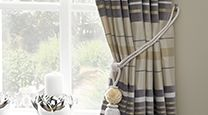 We have an extensive range of wholesale soft furnishings including tiebacks, tassels and trimmings to transform your customer's curtains into an eye-catching feature. Modern Traditional, Soft Furnishings, Fabric Design, Curtains, Contemporary, Home Decor, Blinds, Decoration Home, Room Decor