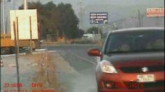 Kadın sürücü radar aracına böyle çarptı -video- - http://www.turkyurdu.com/kadin-surucu-radar-aracina-boyle-carpti-video/