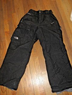 The North Face Hyvent Insulated Snow Ski Snowboarding Sport Pants Mens Black #TheNorthFace