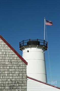 ✮ Stage Harbor Lighthouse, Chatham, Cape Cod, Massachusetts