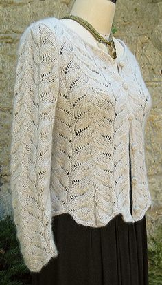 Angel Wing Sweater knitting pattern by Carol Sunday, via Ravelry