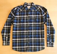 Lucky Brand Men's Long Sleeve Double Pocket Snap-On Shirt NWT   | eBay Lucky Brand, Button Up Shirts, Men Casual, Plaid, Pocket, Long Sleeve, Mens Tops, Ebay, Fashion