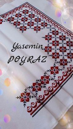 Craft Stick Crafts, Yarn Crafts, Diy Crafts, Crochet Stitches Patterns, Embroidery Stitches, Cross Stitch Designs, Cross Stitch Patterns, Palestinian Embroidery, Crochet Bedspread