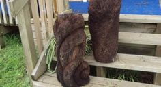 Image result for carved ponga Early Childhood Centre, Tree Fern, Tree Carving, Side Garden, Awesome Designs, Little Star, Wood Art, New Zealand, Texture
