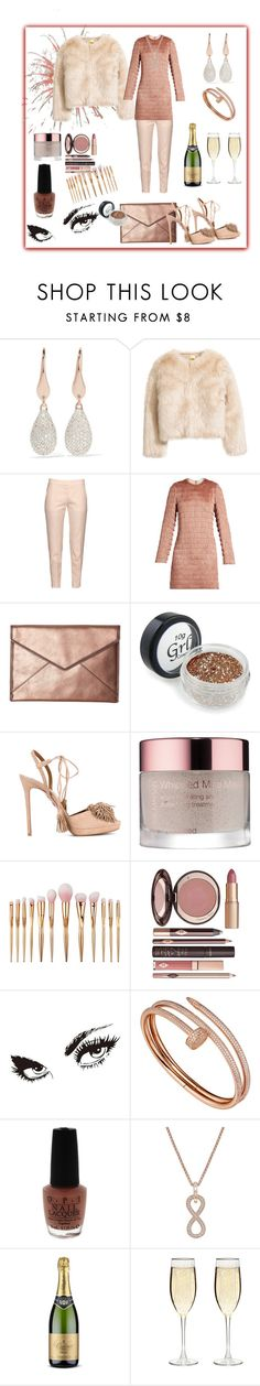 """The New Party 🎉 Dress"" by klm62 ❤ liked on Polyvore featuring Monica Vinader, STELLA McCARTNEY, Raey, Rebecca Minkoff, Aquazzura, Josie Maran, Charlotte Tilbury, WALL, Cartier and OPI"