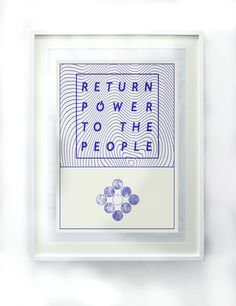Power To The People, Artists, Frame, Home Decor, Picture Frame, Decoration Home, Room Decor, Frames, Home Interior Design