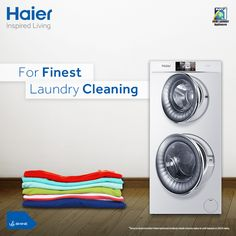 Haier's DUO #WashingMachine offers topnotch washing experience. Now save time & efforts with its dual drum technology that allows users switch easy between the settings for each drum. #HaierIndia #InspiredLiving #Innovation #Technology #Lifestyle