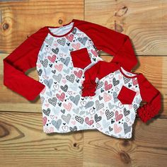 11 Best Children s Valentine s Day Clothing images  2d6340a96927