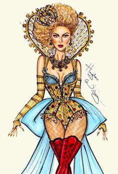 Beyoncé the Mrs. Carter sketch