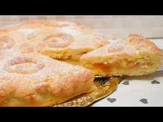 CROSTATA CUOR DI MELE - quick apple tart - YouTube Mini Tortillas, Apple Recipes, Relleno, French Toast, Deserts, Dessert Recipes, Food And Drink, Baking, Breakfast