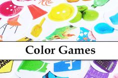 TONS of FREE Preschool Learning Games for Kids! At Folder Fun we have Hundreds of free printable file folder games, covering grades and a variety of different subjects. Preschool Colors, Free Preschool, Preschool Learning, Preschool Crafts, Preschool Ideas, Infant Activities, Activities For Kids, Edible Finger Paints, Educational Websites