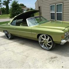 Green drop top Donk °~°