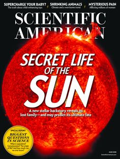 Scientific American is the essential guide to the most awe-inspiring advances in science and technology, explaining how they change our understanding of the world and shape our lives. History Net, What Is Consciousness, Scientific American Magazine, Science Magazine, National Geographic Kids, American Sports, Interactive Activities, Psychology Today, Fitness Magazine