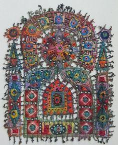 Suzan Lenz, Windolw XXIX, 2011 - fiber art