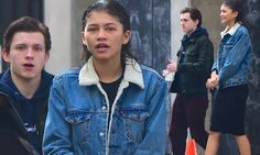 Fresh-faced Zendaya sports wet hair for day with Tom Holland in NYC