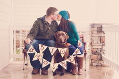 baby announcement photo  Photos by sweet tea photography