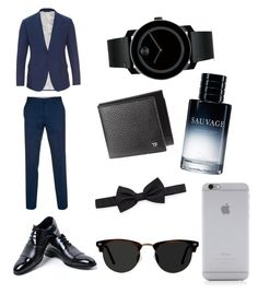 """Untitled #3"" by burdian on Polyvore featuring Paul Smith, Dolce&Gabbana, Ace, Native Union, Lanvin, Christian Dior, Movado, men's fashion and menswear"