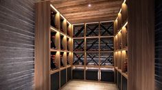 Wine Cellar is Available for Guests Who Loves Good Wine