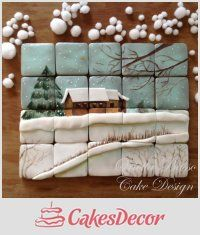 51 Ideas For Painting Christmas Cookies Royal Icing Christmas Sugar Cookies, Christmas Desserts, Christmas Treats, Christmas Baking, Fancy Cookies, Iced Cookies, Royal Icing Cookies, Cookie Monster Cupcakes, Cupcake Cookies