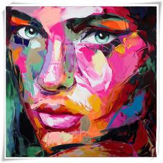 Cheap painting impasto, Buy Quality knife painting directly from China palette knife painting Suppliers: Palette knife painting portrait Palette knife Face Oil painting Impasto figure on canvas Hand painted Francoise Nielly Abstract Faces, Abstract Portrait, Oil Painting Frames, Painting & Drawing, Oil Painting Abstract, Anime In, Images D'art, Frida Art, Cheap Paintings