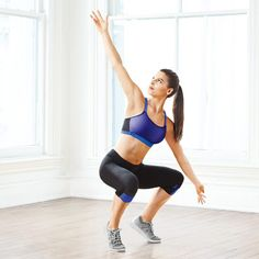 No-Equipment Cardio Moves | The Bird: Works upper back, glutes, legs