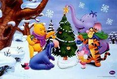 Winnie The Pooh Christmas Pictures Owl Winnie The Pooh, Winnie The Pooh Christmas, Pooh Bear, Disney Christmas, Christmas 2015, Christmas Pictures, Merry Christmas, Holiday, Eeyore