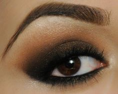 Brown sparkle by MarilynMUA on Makeup Geek