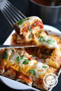 Enchilada (Tavuklu) – Mutfak Sırları – Pratik Yemek Tarifleri
