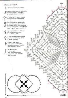 Схема к салфетке 003, часть 1.
