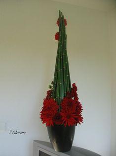 Image - Prêles et dahlias - Art Floral bleuette010 - Skyrock.com