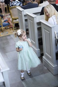 Princess Leonore of Sweden attend the christening of her cousin Prince Alexander of Sweden at Drottningholm Palace Chapel on September 9, 2016 in Stockholm, Sweden.