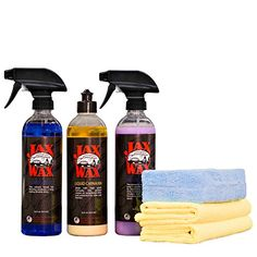 Jax Wax Professional Exterior Wax  Detail Car Care Kit 16 Oz ** Details can be found by clicking on the image.