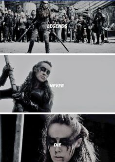 """""""I am the Commander, no one fights for me"""" #The100 #The100Season3"""
