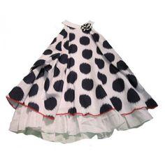 Petit Lem Dots and Stripes Dress front