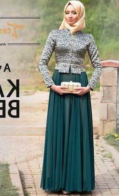 Model Baju Kebaya Hijab Kebaya Hijab, Model Kebaya, Abaya Fashion, Hijab Outfit, Kaftan, Pretty Dresses, Formal, Wedding Dresses, Muslim